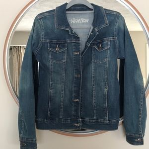 NWOT Jean Jacket Old Navy Size M Tall